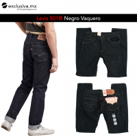 501 Negro Vaquero Liso (501090L)