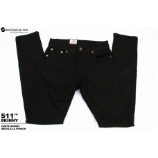 511 Skinny Strech Negro Liso (511000L)